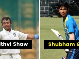 young indian cricketers