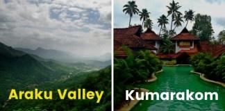 Summer getaways in south india