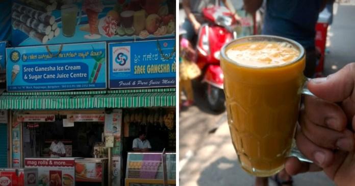 juice centers in bengaluru