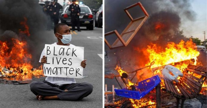 Black Lives Matter: Protests over George Floyd escalates, US ...