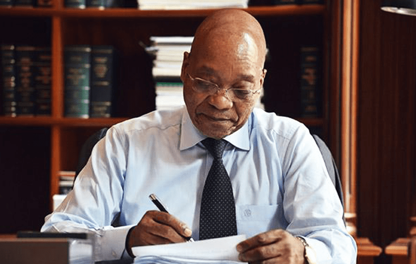 President Zuma reinstates peace in Parliament