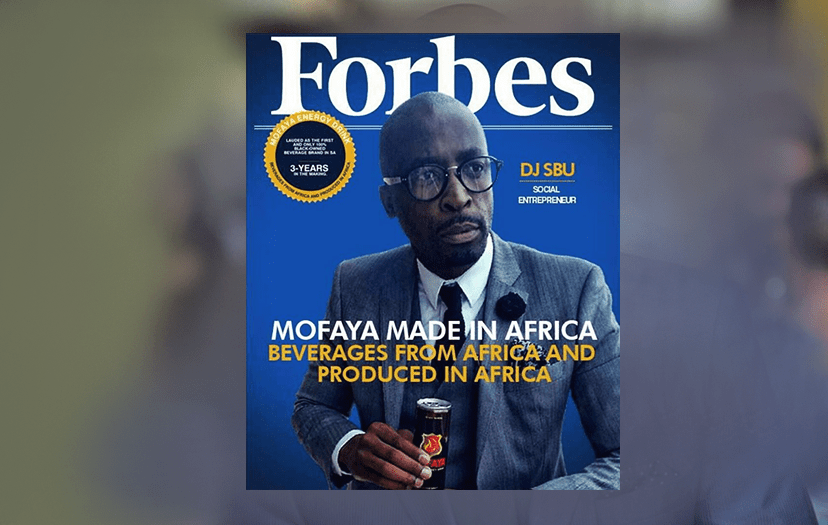 Sibusiso Leope's Forbes cover, confirmed fake.