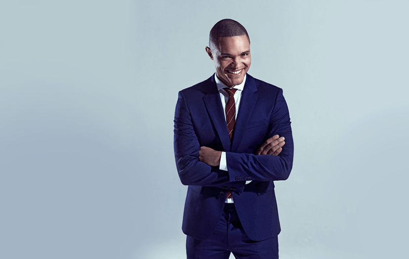 Trevor Noah gets the big Chair on 'The Daily Show'