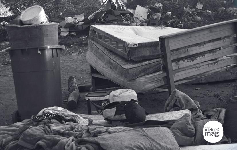 some of the dwellers belongings