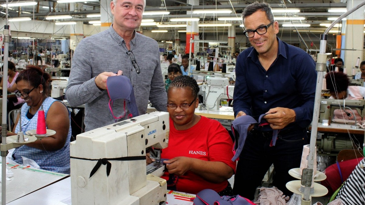 Investment by international underwear giant boosts local clothing sector