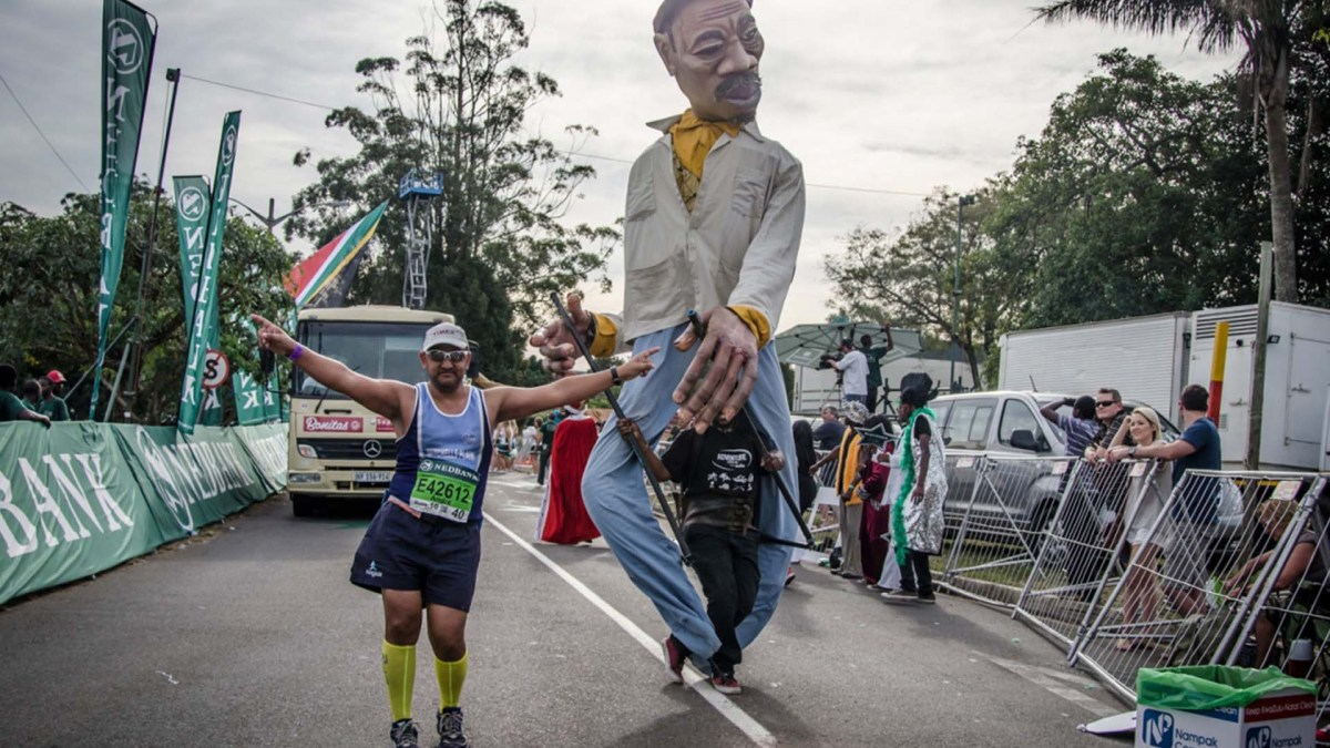 Green and gold for the Nedbank Green Mile