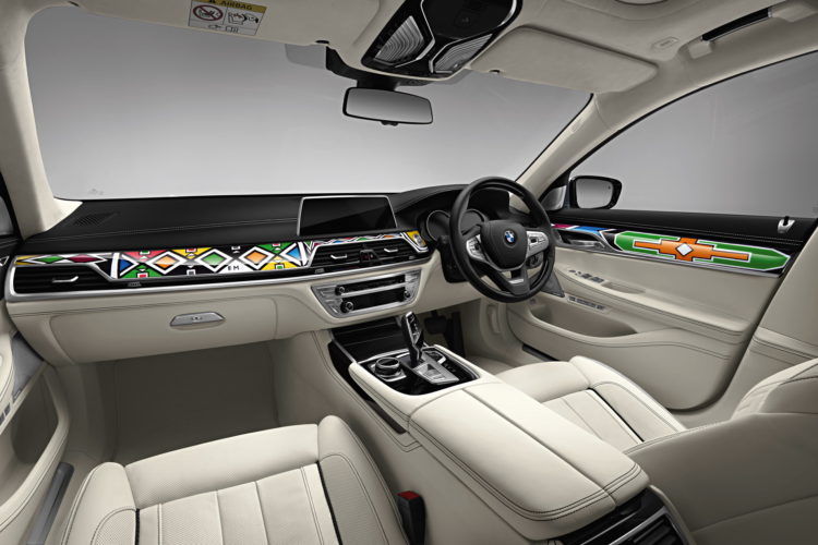 BMW Individual 7 Series by Esther Mahlangu