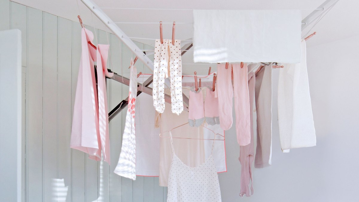 why you should always avoid drying your clothes indoors