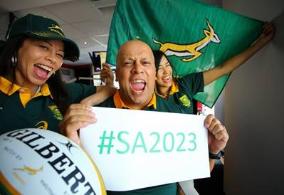 """South Africans called to back """"green days"""" in RWC 2023 Bid campaign"""