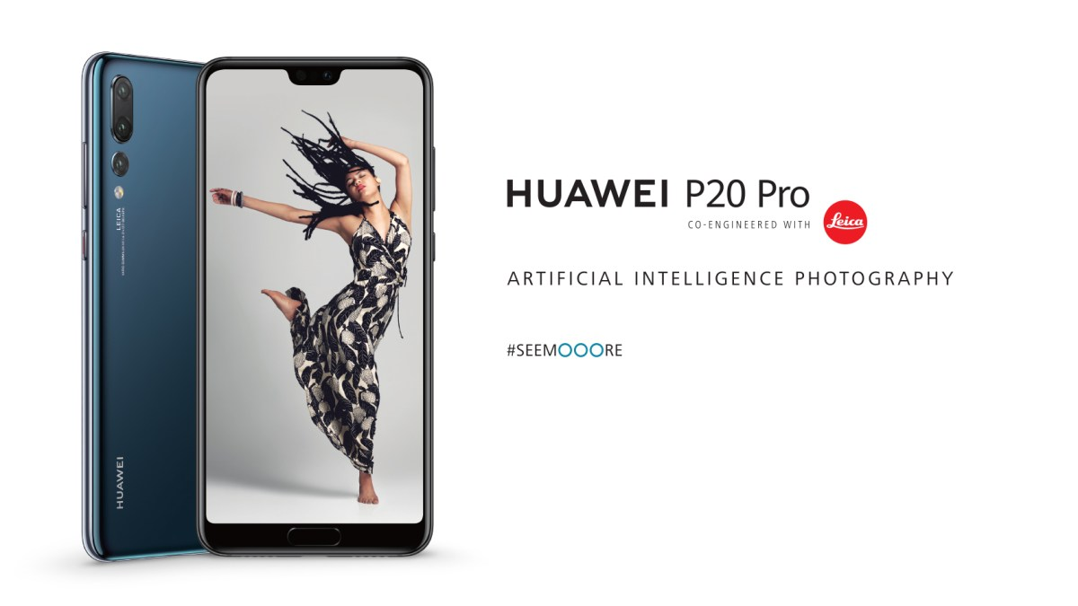 Huawei launches P20 Pro with triple camera power