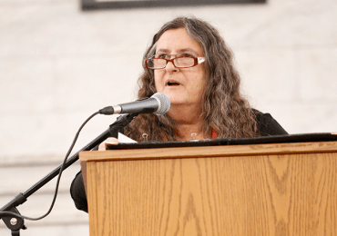 New city poet laureate promises to bring new voices to the microphone