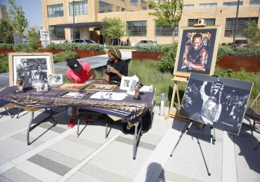 Black-owned pop-up shop draws crowds at Cortex Commons