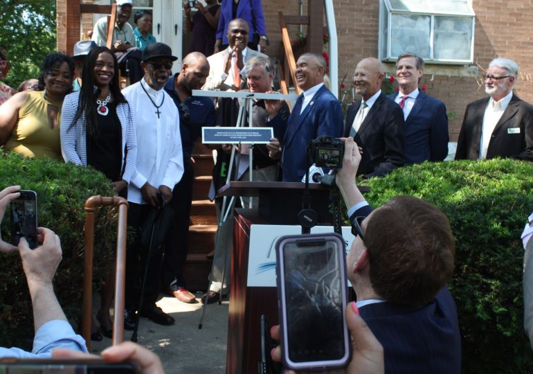 Shelley House joins ranks of African American civil rights landmarks