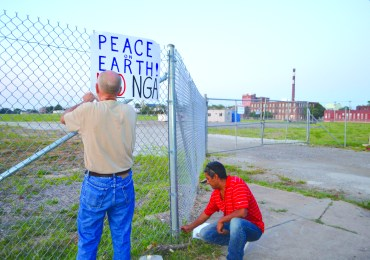 Residents say NGA is not welcome in St. Louis Place