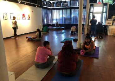 Hip hop music gives new, welcoming twist to yoga