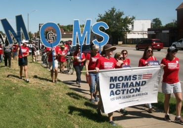 'It still hurts': Mothers march in protest against gun violence