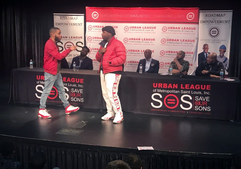 Save Our Sons town hall uses 'rock, paper, scissors' to motivate youths
