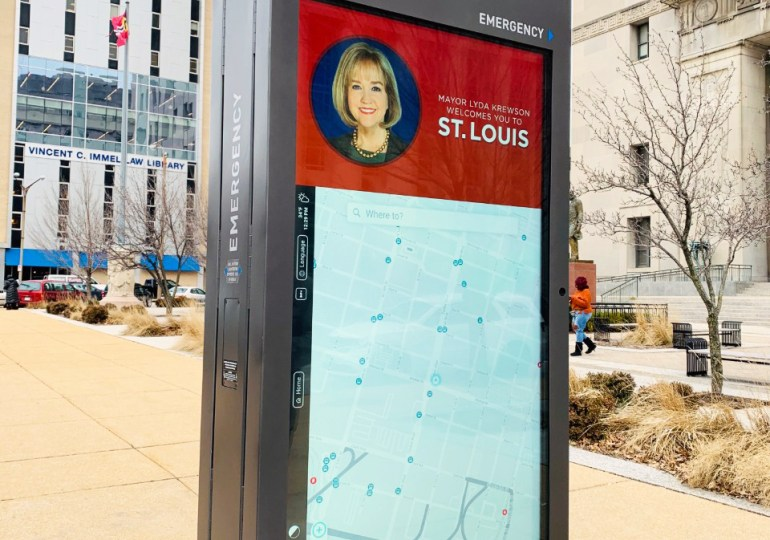 New interactive kiosks provide extra information downtown, elsewhere