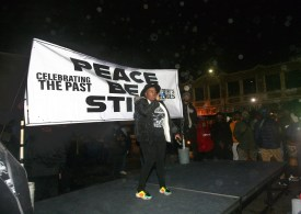 'Peace Be Still' march draws hundreds to face down gun violence