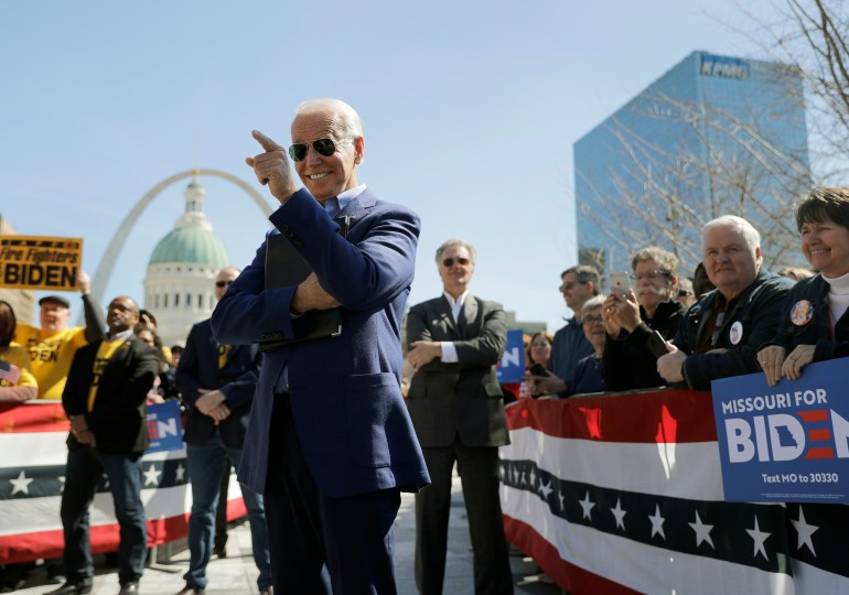 Biden, Sanders rev up attacks as Missouri vote nears
