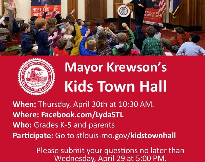 Children can ask mayor questions at virtual town hall just for them