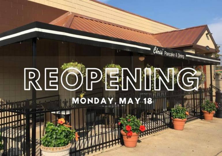 Businesses clear decks for Monday's partial opening - or not