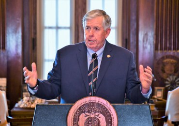 Parson wants state authority in city homicide cases