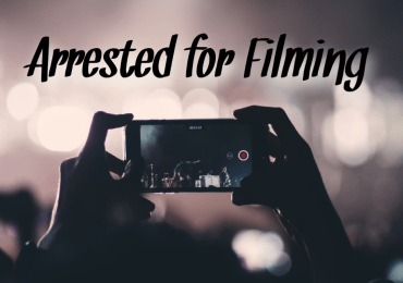 Police accused of arresting woman for filming other arrests