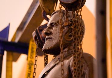 Virginia's Lee statue is pulled from U.S. Capitol