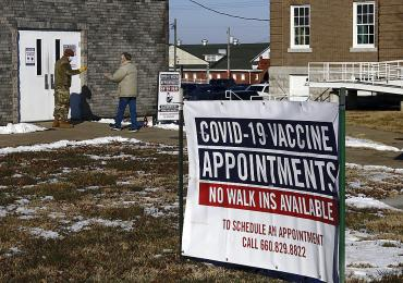 Mass vaccination sites aim for 18,000 shots in a day