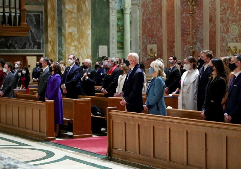 Mix of hope, dismay as religious leaders assess Biden