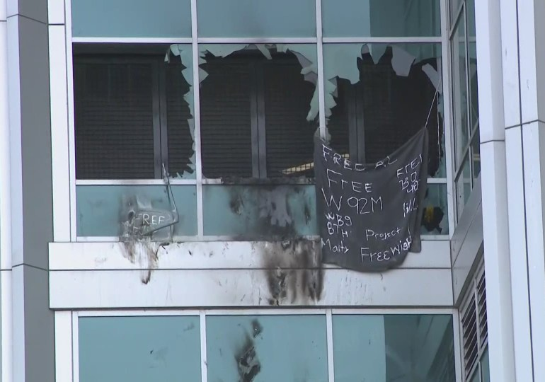 Inmates at city jail set fires, break out windows