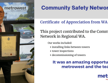 Community Safety Network Project