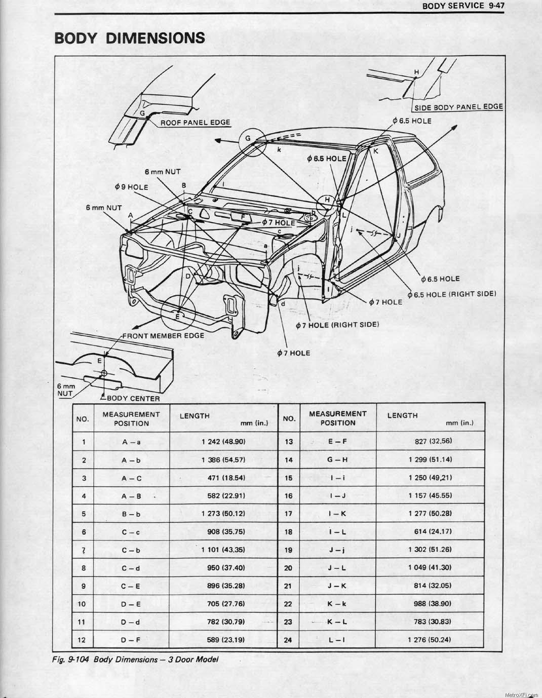 [DIAGRAM] 1990 Geo Metro Engine Diagram FULL Version HD