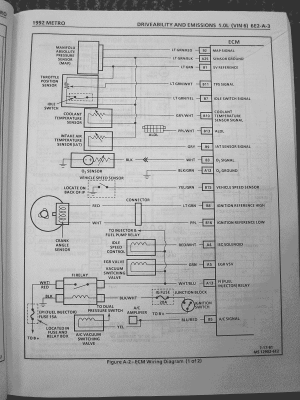 Radio Wire Diagram For A 1994 Geo Metro Circuits Radio