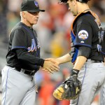 How will Terry Collins deploy his catchers in 2nd half?