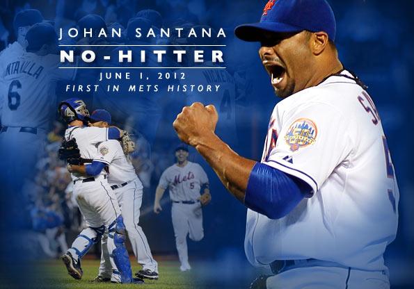 Image result for johan santana no hitter