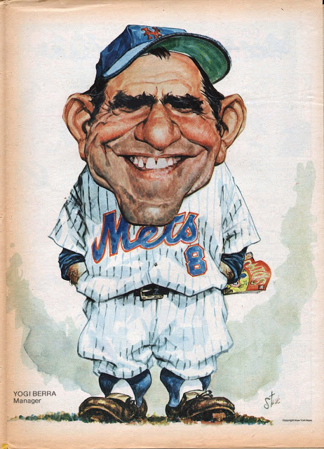 Mets Card Of The Week 1973 Yogi Berra