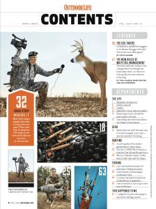 Outdoor Life on laadukkaasti tuotettu metsästyslehti