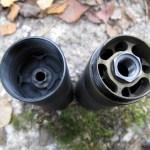 Stalon W110 -äänenvaimennin avattuna