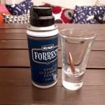 Tulevien vaahtobileiden ainesosat. Nyt testataan liukeneeko kupariluoti Forrestiin.