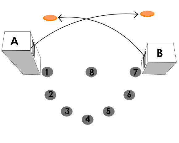 Skeetradan rakenne