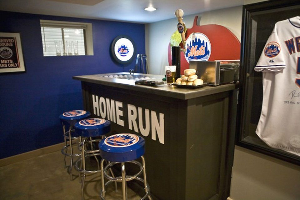 Mets Man Cave: Essential To Any Mets Household