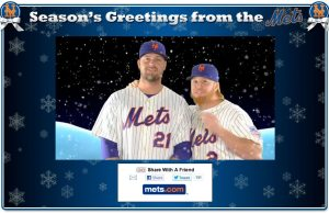 Mets Seasons Greetings