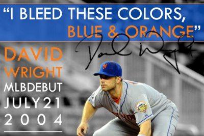 David Wright MLB Debut