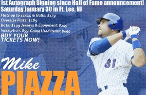Mike Piazza Signing 1/30/16