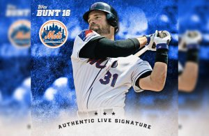 Piazza to Make History Again with TOPPS BUNT Digital Signatures This Weekend