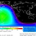 Explosão solar causou apagão de rádio na América do Sul