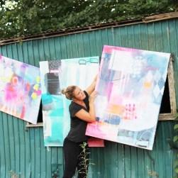 Køb at maleri hos kunstner Mette lindberg
