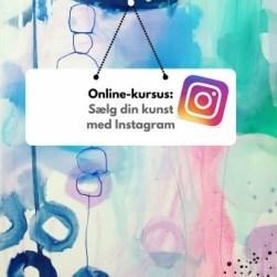 instagram kursus for kunstnere